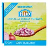 Esselunga Bio, cipolla rossa tritata surgelata biologica 100 g