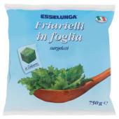 Esselunga, friarielli in foglia surgelati 750 g