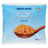 Esselunga, zucca a cubetti surgelata 750 g