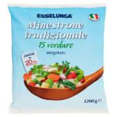 Esselunga, minestrone tradizionale 15 verdure surgelato 1,2 kg