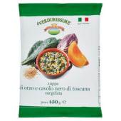 Campi Reali, le Verdurissime zuppa di orzo e cavolo nero di toscana surgelata 450 g