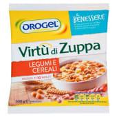 Orogel, Il Benessere Virtù di Zuppa legumi e cereali surgelati 500 g