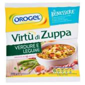 Orogel, il Benessere Virtù di Zuppa verdure e legumi surgelata 500 g