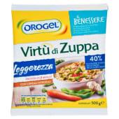 Orogel, Il Benessere Leggerezza Virtù di Zuppa surgelata 500 g