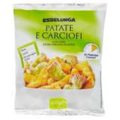Esselunga, patate e carciofi surgelati 450 g