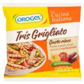 Orogel, La Cucina Italiana Tris Grigliato gusto ricco surgelato 400 g