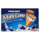 Esselunga, mini cono panna e cioccolato 8 pezzi 320 g