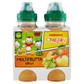 Esselunga CheJoy, Multifrutta giallo bevanda a basse di succhi di frutta biologica conf. 4x200 ml