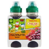 Esselunga CheJoy, Multifrutta rosso bevanda a basse di succhi di frutta biologica conf. 4x200 ml