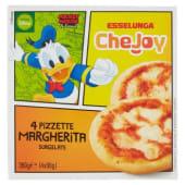 Esselunga CheJoy, pizzette Margherita surgelate conf. 4x90 g