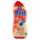 Pril, Gold gel Anti-Odore 33 lavaggi