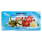 Esselunga, sapone vegetale all'olio d'oliva rosa canina conf. 2x100 g