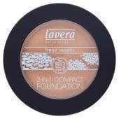 Lavera Bio Fondotinta + cipria compatta 2 in 1 ivory 01 10 g