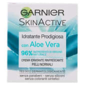 Garnier, SkinActive idratante prodigiosa con aloe vera rinfrescante per pelli normali 50 ml