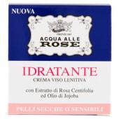 Roberts, Acqua alle Rose, Idratante crema viso lentiva pelli secche o sensibili 50 ml