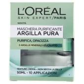 L'Oréal Paris, Argilla Pura maschera purificante 50 ml