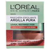 L'Oréal Paris, Argilla Pura maschera esfoliante 50 ml