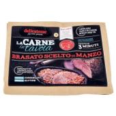 Delicatesse, La Carne in tavola brasato scelto di manzo 700 g