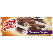 Waffers de chocolate sin gluten