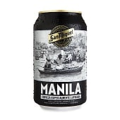 Cerveza lupulada manila lata 33 cl