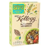 Cereales wk granola con semillas de calabaza y chía caja 300 gr