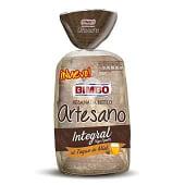 Pan de molde integral al toque de miel artesano bolsa 550 gr