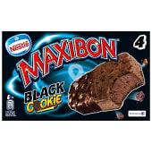 Helado maxibon black cookie caja 4 uds 372 gr