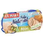 Paté de atún en aceite de oliva pack 2 latas 75 gr