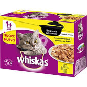 Casserole selección de aves con pollo en gelatina para gatos 12 unidades 85 g