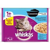 Comida húmeda para gato selección de pescado Casserole