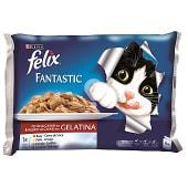 Comida para gatos húmeda surtido de carne