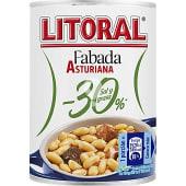 Fabada asturiana -30% sal y grasa lata 435 g