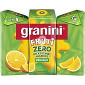 Zero néctar naranja sin azúcares añadidos pack 3 envases 200 ml