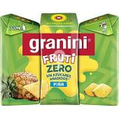 Zero néctar de piña sin azúcares añadidas pack 3 envases 200 ml