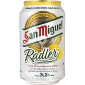 Radler cerveza rubia con zumo natural de limón lata 33 cl