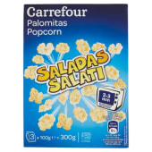 Carrefour Popcorn Salati 3 X 100 G