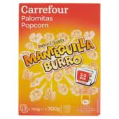 Carrefour Popcorn Gusto Burro 3 X 100 G