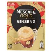 Nescafé Gold Ginseng Preparato Solubile Per Caffè Al Ginseng Astuccio 10 Bustine 70G