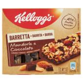 Kellogg'S Barretta Mandorle E Cioccolato 4 X 32 G