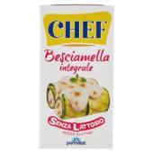 Chef, besciamella integrale senza lattosio 500 ml