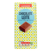 Tablete de Chocolate Leite Continente (emb. 100 gr)
