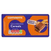 Tablete de Chocolate Mistura Cereais Continente (emb. 100 gr)