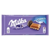 Tablete de Chocolate Oreo Milka (emb. 100 gr)