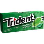 Pastilhas Elásticas sem Açúcar Spearmint Trident (emb. 14,5 gr)