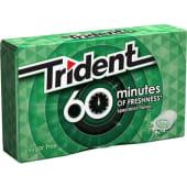 Pastilhas Elásticas Fresh Spearmint Trident (emb. 20 gr)