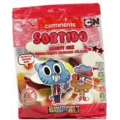 Gomas Sortido Brilho Continente Infantil (emb. 200 gr)