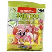 Gomas Sortido com Açúcar Continente Infantil (emb. 200 gr)