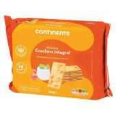 Bolachas Crackers Integrais Continente (emb. 500 gr)