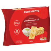 Bolachas Crackers com Sal Continente (emb. 500 gr)
