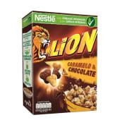 Cereais Caramelo e Chocolate Lion Nestlé (emb. 400 gr)